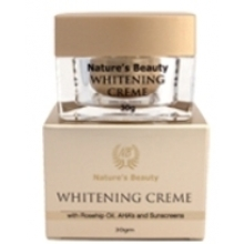 Nature's Beauty Whitening Creme