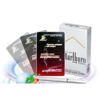 """Card for cigarettes with biophotons """"HuaShen"""""""